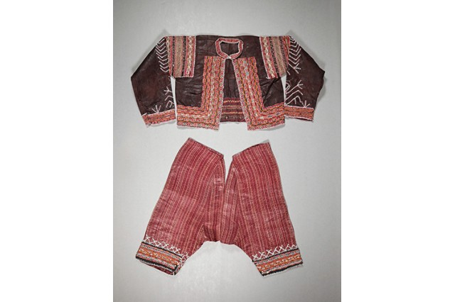 Bagobo man's outfit from 1940s