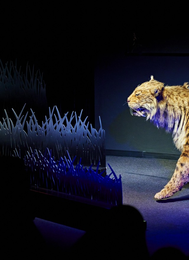 ice age encounters show tar pits