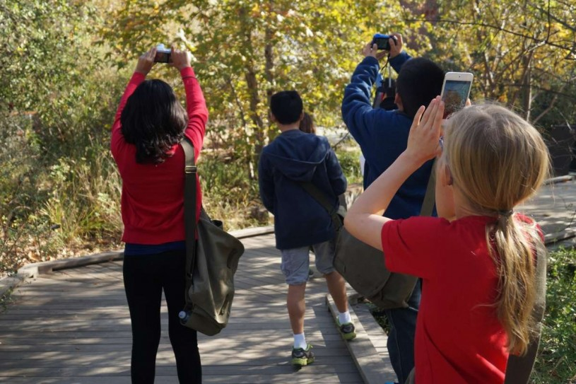 Young community scientists help to document wildlife in the heart of Los Angeles