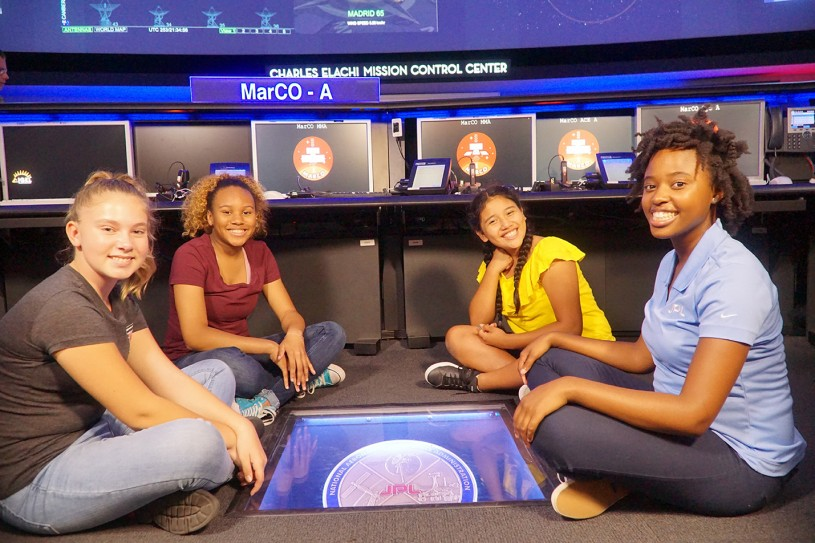 SciGirls at NASA's Jet Propulsion Lab