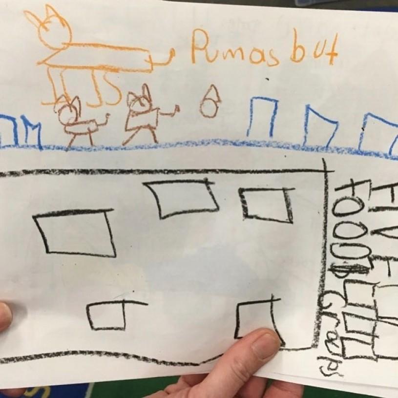 Lindbergh Elementary School student artwork