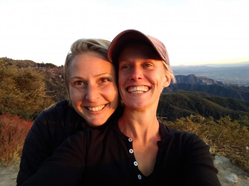 Molly Sjöberg and fiancé